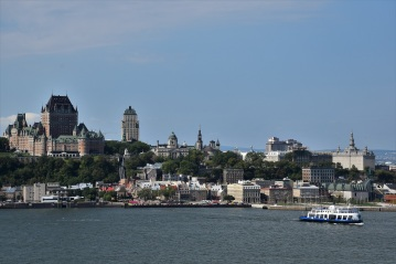 The great view from Lévis, on the other side of the St. Lawrence