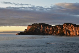 Forillon National Park, sunrise