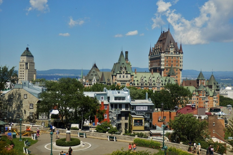 Quebec City and its iconic Château Frontenac!