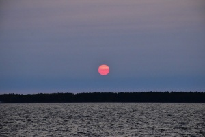 Sunset, St Lawrence