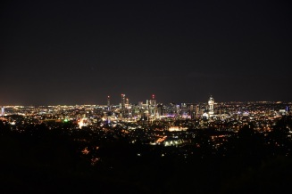 Mount Coot-Tha, Brisbane, night