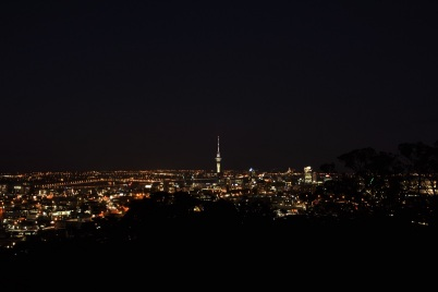 Auckland at night, Mount Eden