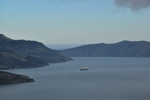 Cruise ship, Banks Peninsula