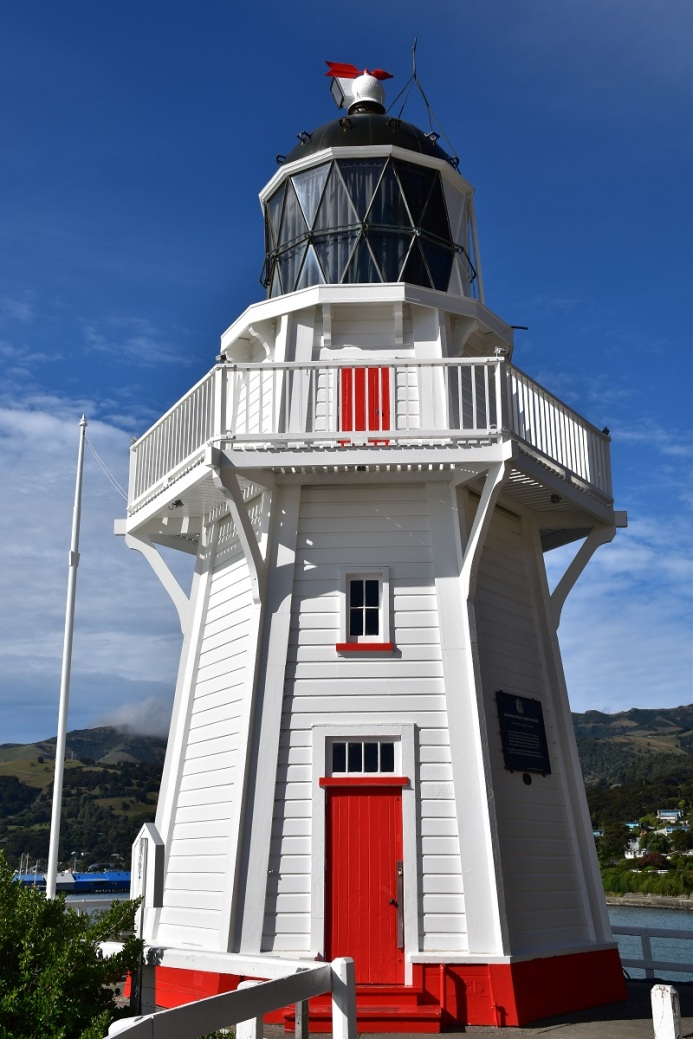 Lighthouse, Banks Peninsula