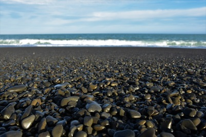 Black beach, Kaikoura
