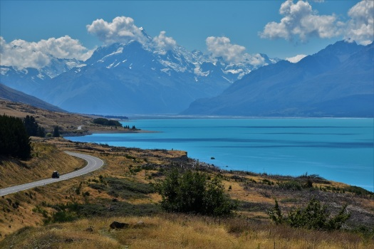 Mount Cook, Lake Pukaki