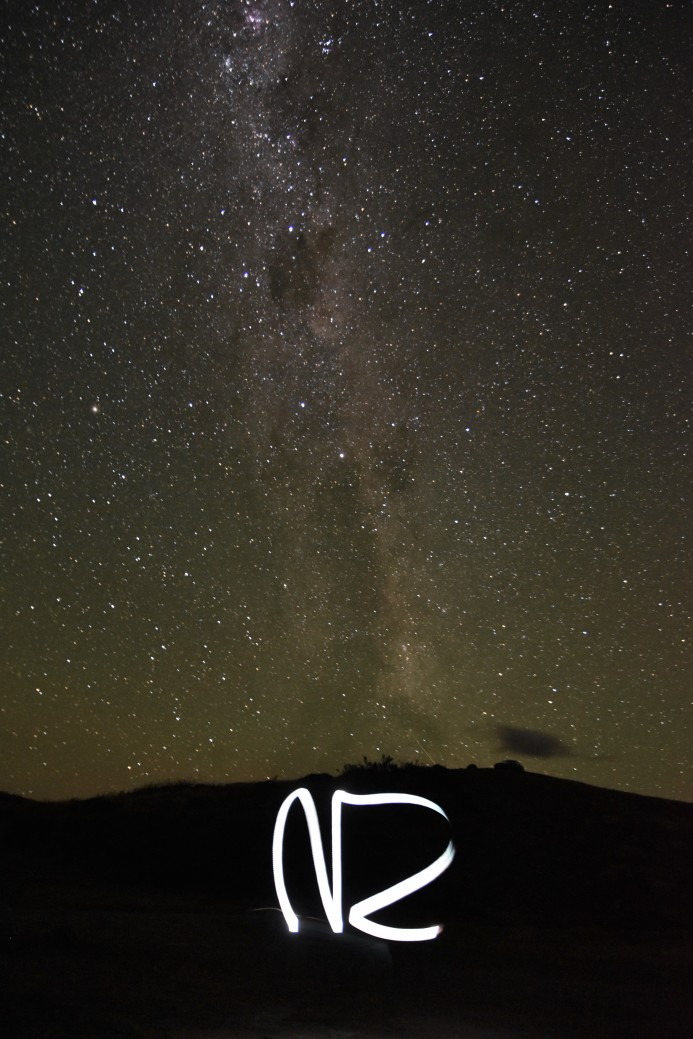 Milky Way, Lake Pukaki