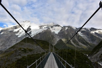 Bridge, Hooker Valley Track