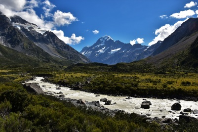 River, Mount Cook