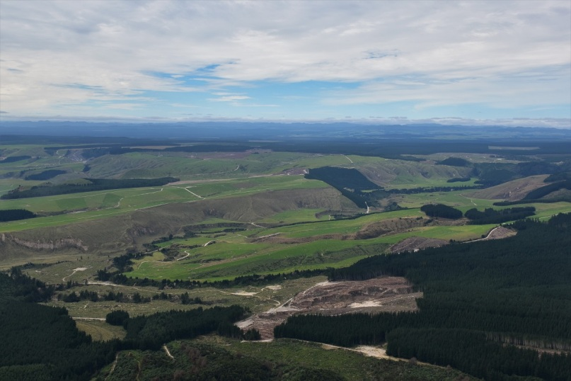 View from Mount Tauhara