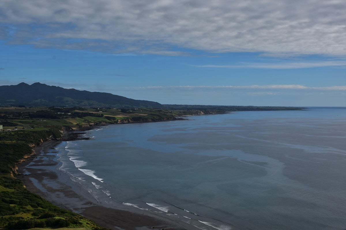 The coast West of New Plymouth