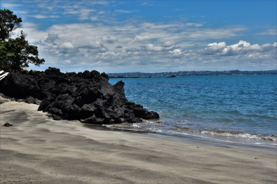 Beach, Rangitoto Island