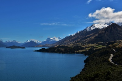 Scenic drive Queenstown to Glenorchy