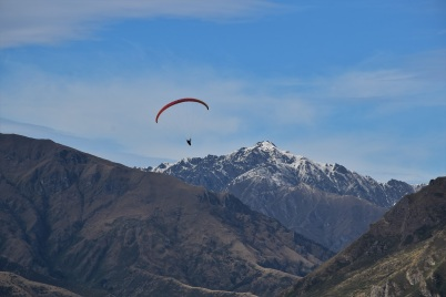 Rocky Mountain, paraglider
