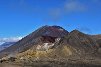 Red Crater and Mount Ngauruhoe, Tongariro Alpine Crossing