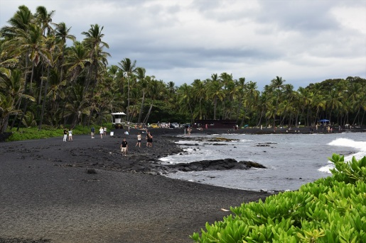 Black Sand Beach, Big Island
