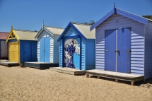 Bathing Boxes, Brighton Beach, Melbourne