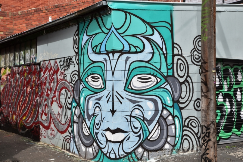 Street art, Collingwood, Melbourne