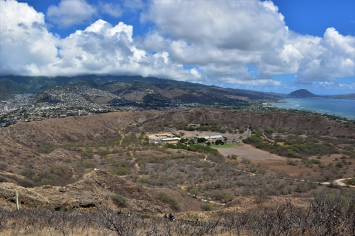 Inside the crater of Diamond Head