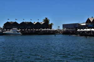The harbour of Fremantle