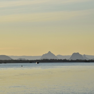 Glass House Mountains, Bribie Island
