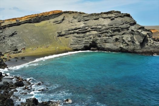 Green Sand Beach, Big Island