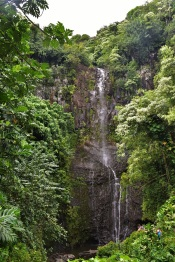 Waterfall, Road to Hana, Maui