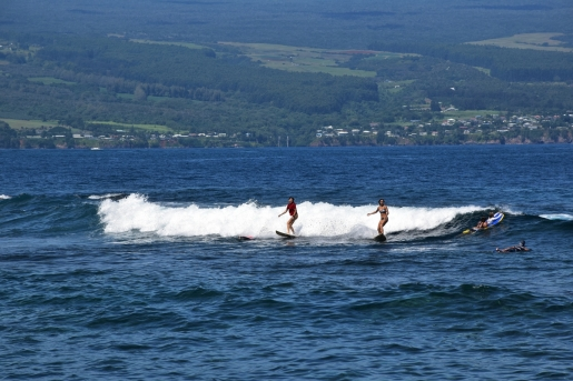 Surfers, Hilo, Big Island