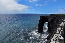 Holei sea arch, Kilaueau, Big Island