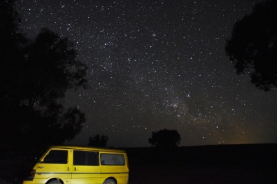 Night sky, Principality of Hutt River