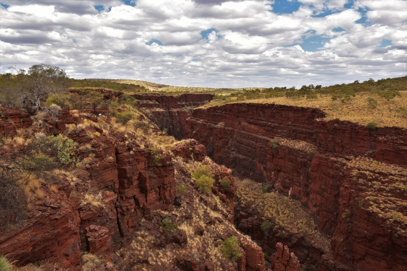 Oxer lookout, Karijini National Park