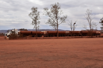 Road train, Karijini National Park