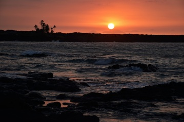 Sunset, Kiholo Bay, Big Island