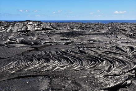 Lava fields, Kilauea, Big Island