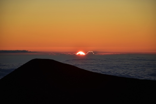 Sunset, Mauna Kea, Big Island
