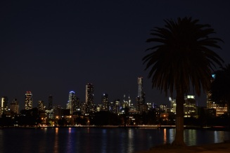 Night, Albert Park, Melbourne