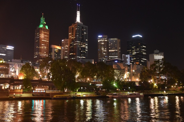 Melbourne, night