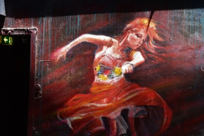 Street art, dance, Melbourne