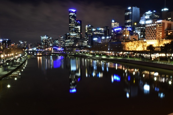 Night, Yarra River, Melbourne
