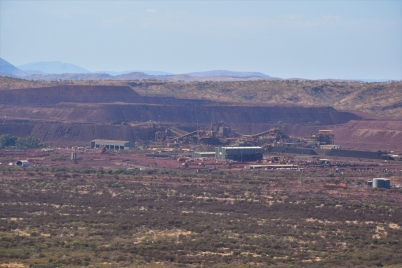 Iron mine, Mt Bruce