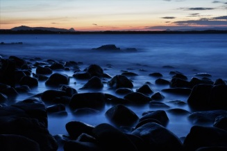 Sunset, long exposure, Noosa