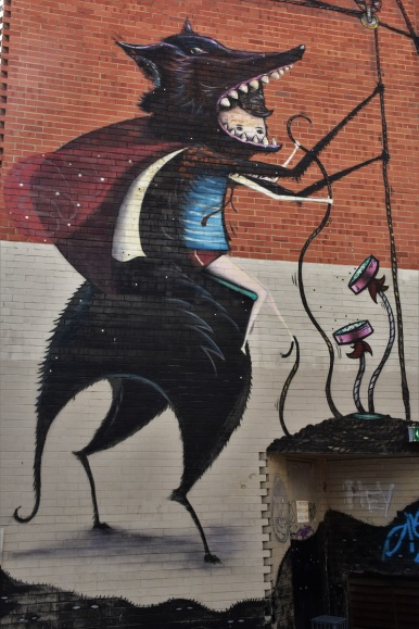 Street art in Perth