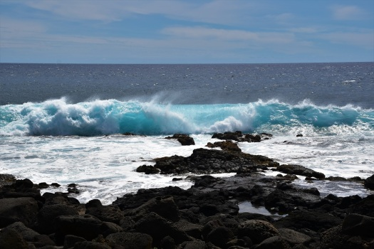 Wave, South Point, Big Island