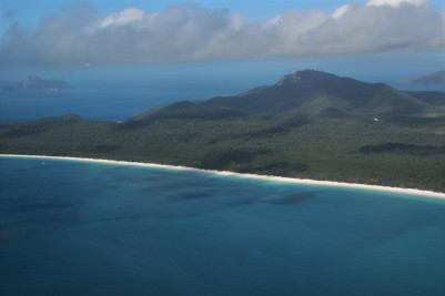 Whitsunday Islands, scenic flight