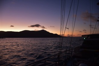 Sunset, Whitsunday Islands