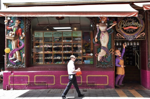 Candy shop, Adelaide