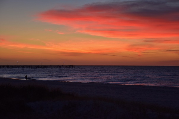 Sunset, Semaphore Beach, Adelaide
