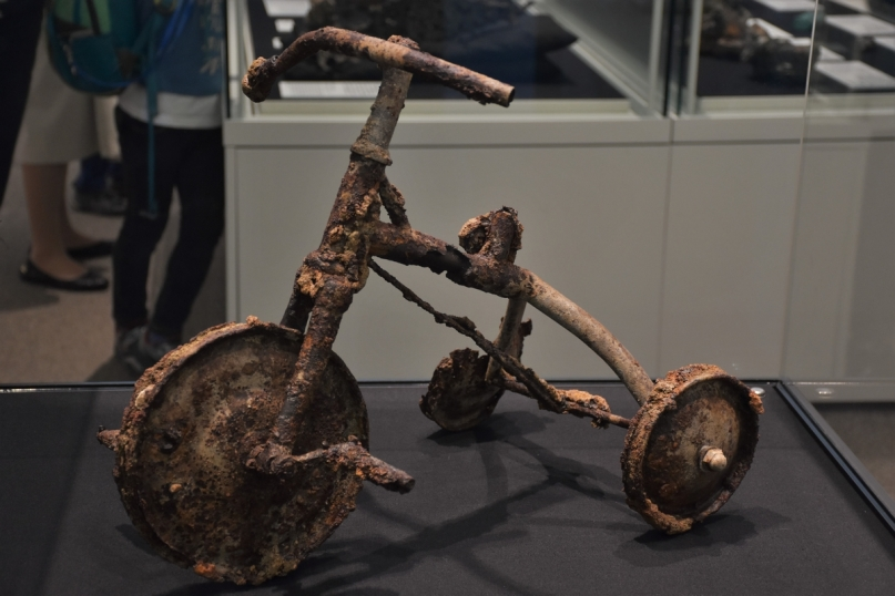 Tricycle, Peace Museum, Hiroshima