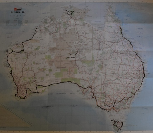 map-australia-itinerary