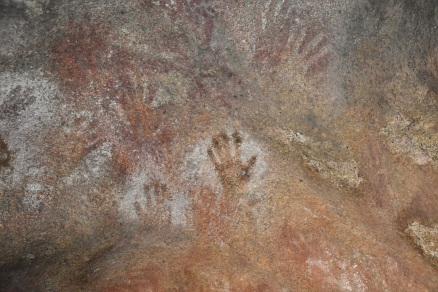 Handprints, Mulka's Cave